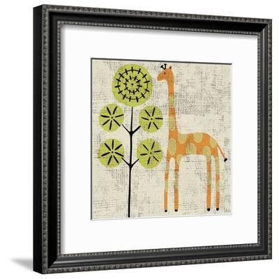 Ada's Giraffe-Chariklia Zarris-Framed Art Print