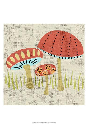 Ada's Mushrooms-Chariklia Zarris-Art Print