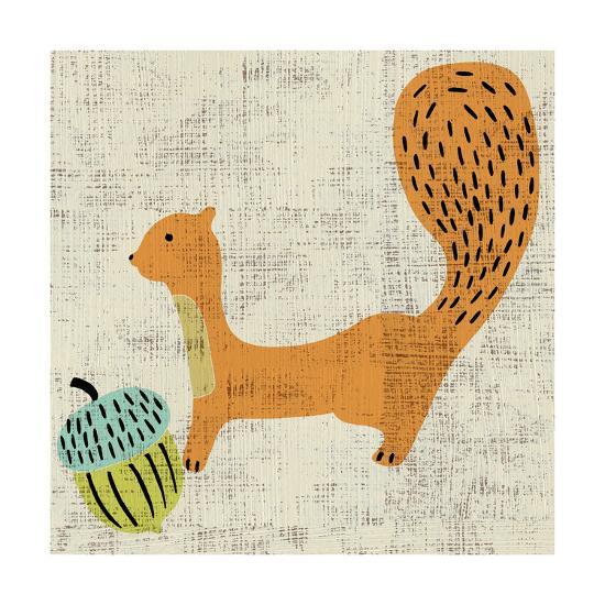 Ada's Squirrel-Chariklia Zarris-Art Print