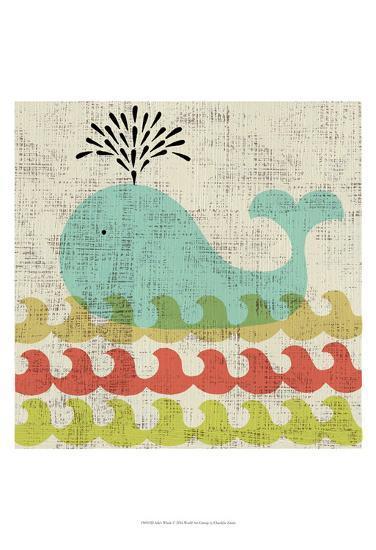 Ada's Whale-Chariklia Zarris-Art Print