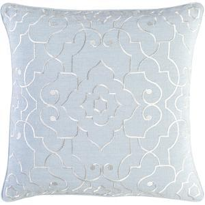 Adagio Down Fill Pillow - Pale Blue