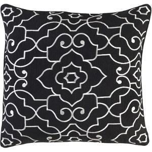 Adagio Pillow Cover - Black