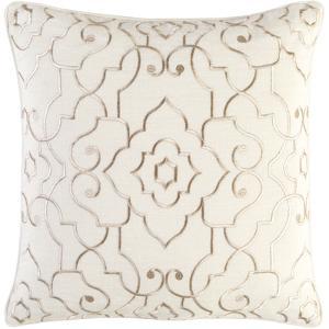 Adagio Pillow Cover - Cream