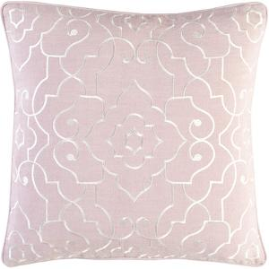 Adagio Poly Fill Pillow - Pale Pink