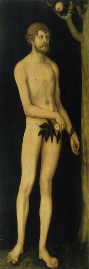 Adam, 1531-Lucas Cranach the Elder-Giclee Print