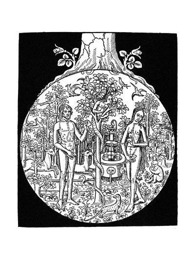 Adam and Eve, 1505--Giclee Print