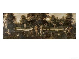 Adam and Eve Banished from Paradise