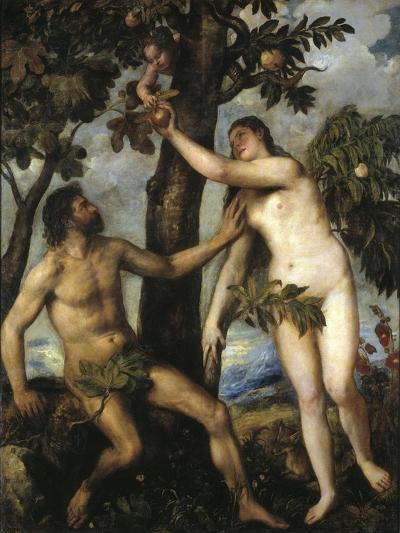 Adam And Eve, Ca. 1550, Italian School--Giclee Print