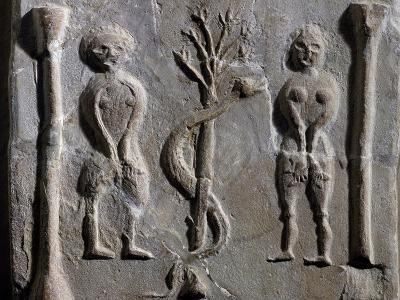 Adam and Eve, Relief from Sousse--Giclee Print