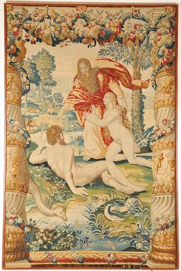 Adam and Eve (Tapestr), C. 1650-1660--Giclee Print