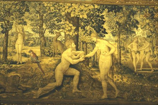 Adam and Eve. The Temptation, c16th century, (20th century)-Unknown-Giclee Print