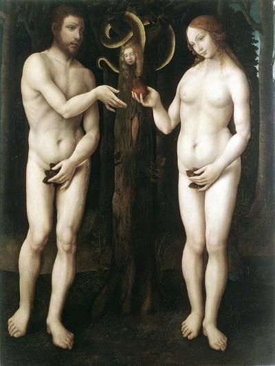 Adam and Eve' ('The Temptation of Adam), C1520--Giclee Print