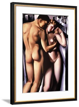 Adam and Eve-Tamara de Lempicka-Framed Giclee Print