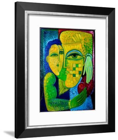 Adam And Eve-Van Hovak-Framed Art Print