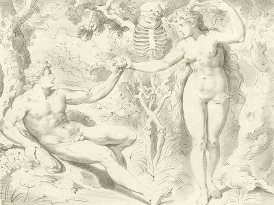 Adam and Eve-Frans The Elder Floris-Giclee Print