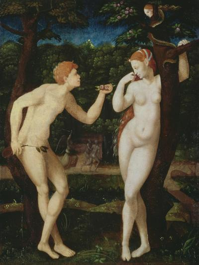 Adam and Eve--Giclee Print