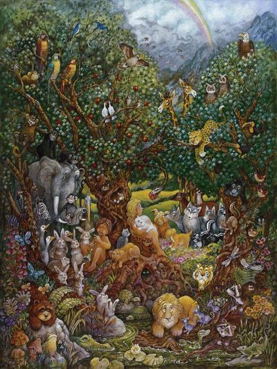 Adam and Eve-Bill Bell-Giclee Print