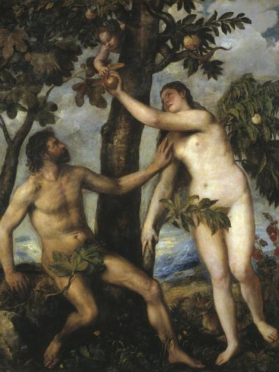 Adam and Eve-Titian (Tiziano Vecelli)-Photographic Print