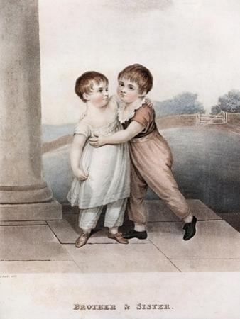 Brother and Sister, Late 18th-Early 19th Century