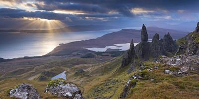 Old Man of Storr, Isle of Skye, Scotland. Autumn (November)