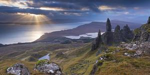 Old Man of Storr, Isle of Skye, Scotland. Autumn (November) by Adam Burton