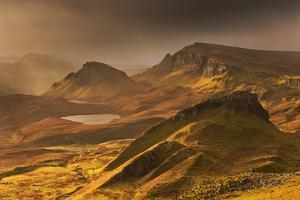 Spectacular Light over the Trotternish Range from the Quiraing in the Isle of Skye, Scotland by Adam Burton