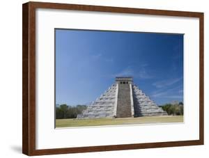 Mexico, Yucatan Peninsula, Yucatan, Chichen Itza, Kukulkan Pyramid by Adam Crowley
