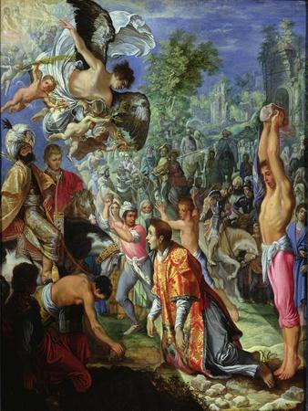 Stoning of St. Stephen, C.1602-05