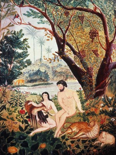 Adam & Eve--Giclee Print