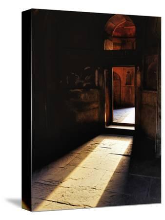 Afternon Sunlight Through Doorway on Interior of Tomb of Mohammed Shah, Lodhi Gardens, New Delhi
