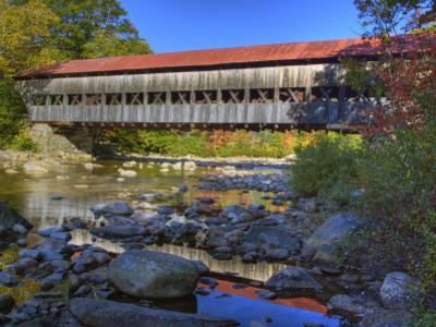 Albany Covered Bridge Over Swift River, White Mountain National Forest, New Hampshire, USA