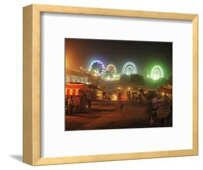 Amusement Rides, Pushkar Fair, India