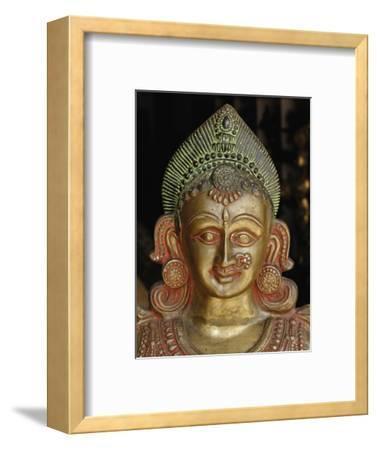 Buddha in Storefront Window, Delhi, India
