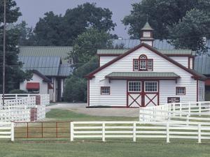 Calumet Horse Farm, Lexington, Kentucky, USA by Adam Jones