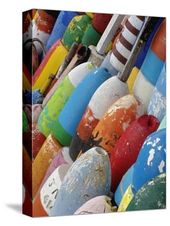 Colorful Buoys, Rockport, Cape Ann, Massachusetts, USA
