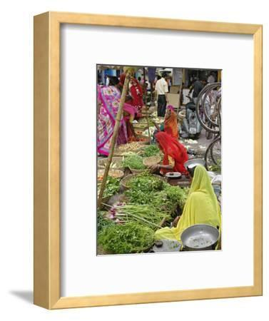 Colorful Fruit and Vegetable Market, Udaipur, India
