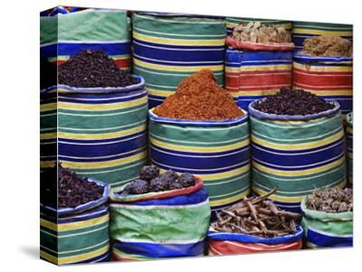 Colorful Spices at Bazaar, Luxor, Egypt