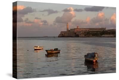 Fishing Boats and El Morro Lighthouse at Sunrise