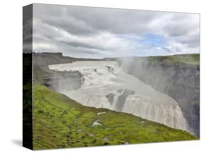 Gulfoss Waterfall, the Golden Waterfall, Iceland