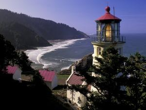 Heceta Head Lighthouse, Florence, Oregon, USA by Adam Jones