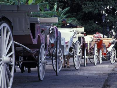 Horsedrawn Carriage at Jackson Square, French Quarter, Louisiana, USA