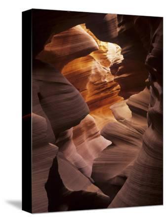 Interior of Lower Antelope Canyon, a Slot Canyon Near Page, Arizona, USA