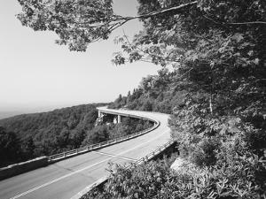 Linn Cove Viaduct, Blue Ridge Parkway National Park, North Carolina, USA by Adam Jones