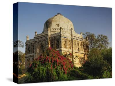 Mosque of Sheesh Gumbad, Lodhi Gardens, New Delhi, India