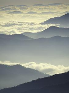 Mountains and Clouds, Tennessee, USA by Adam Jones