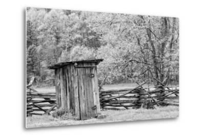 Outhouse, Pioneer Homestead, Great Smoky Mountains National Park, North Carolina