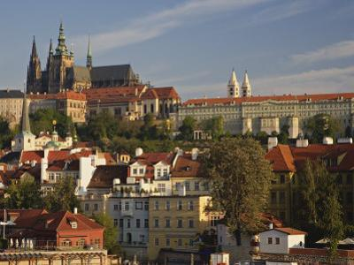 Prague Castle and Lesser Town Area, Prague, Czech Republic by Adam Jones