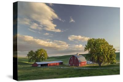 Red Barn at Sunset, Palouse Region of Eastern Washington