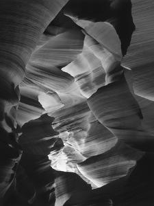 Red Sandstone Walls of Lower Antelope Canyon, Page, Arizona, USA by Adam Jones