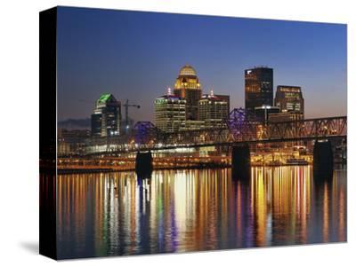 Skyline, Louisville, Kentucky at Dusk